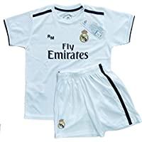 Kit - Personalizable - Primera Equipación Replica Original Real Madrid 2018  2019 3a206bbe23b9b