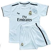 Real Madrid FC Kit Infantil Replica Primera Equipación 2018/2019 (6 Años)