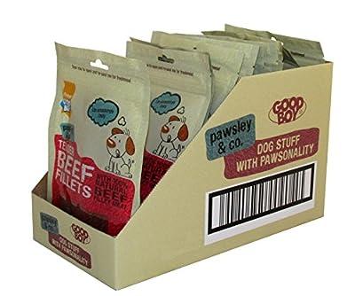 Good Boy Deli Dog Treats Tender Beef Fillets 90 g (Pack of 10)