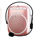 SHIDU SD-S308 Rechargeable Wired Voice Amplifier, 5 Watts Louderspeaker with 1000mAh Lithium Battery for Teachers / Coaches / Tour Guides / Presentations and More