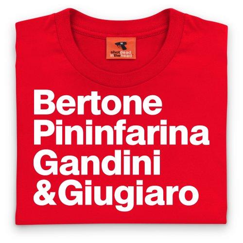 PistonHeads Names 1 T-Shirt, Herren Rot