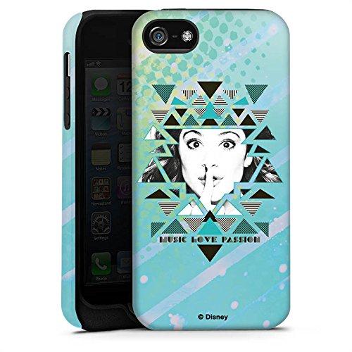 Apple iPhone X Silikon Hülle Case Schutzhülle Disney Violetta Fanartikel Merchandise Tough Case matt