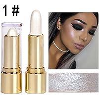 Tefmaore De alto brillo ojo negro brillante lápiz corrector corrector lápiz cosmético-convertido hermosa