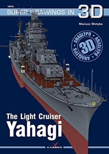 The Light Cruiser Yahagi (Super Drawings in 3D) por Mariusz Motyka