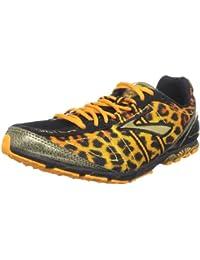 BROOKS Mach 13 Ladies Running Spikes, Black/Orange, UK4 - Width B