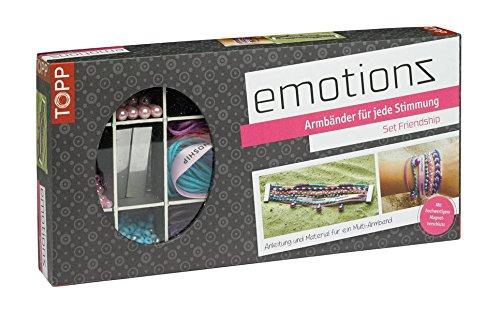 Emotionz Armbänder Set Friendship: Anleitung und Material für Multi-Armband