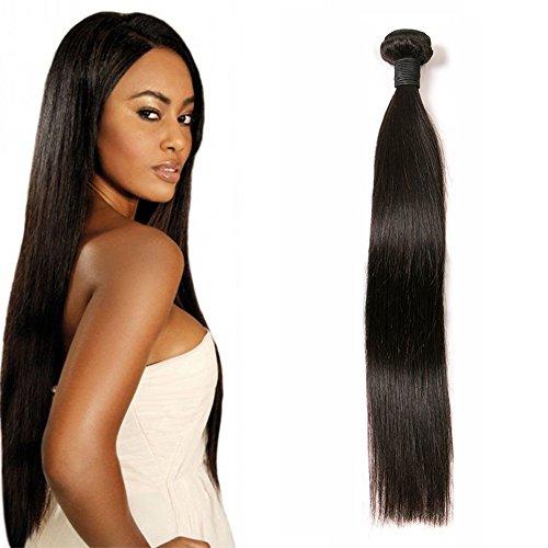 Daimer Straight Natural Weave Tissage Cheveux Humains Brésilien en lot pas cher Naturel 16 Inches