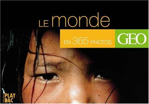Le tour du monde en 365 photos spectaculaires (agenda avec spirale et socle pour bureau) par Geo Art