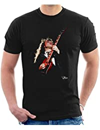 Tony Mottram Official Photography - Angus Young ACDC 1988 Men's T-Shirt