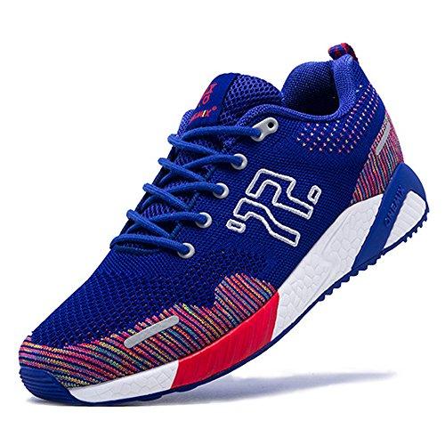 ONEMIX Atletica Degli Uomini Scarpe Da Corsa Delle Donne Sneakers Di Jogging Unisex Blu