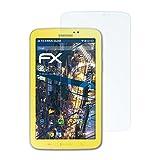 atFolix Panzerfolie für Samsung Galaxy Tab 3 Kids (SM-T2105) Folie - 2 x FX-Shock-Clear stoßabsorbierende ultraklare Displayschutzfolie