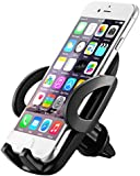 Car Mount, Mpow Car Phone Holder Universal Adjustable Angle Car Cradle, Fixing to the Grid Air Vent Phone Mount for iPhone 7 7Plus 6s 6 5s, Samsung S8 S7, Huawei, Xiaomi, HTC, Sony and other Devices