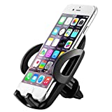 Air Vent Phone Mount, Mpow Universal Car Phone Holder Adjustable Car Cradle With One Button Release and 360 Degrees Ratation Car Mount for iPhone 7 / 7 Plus / 6 / 6s Plus / 5S, LG, Sony, HTC, Huawei and Other Mobile Phone