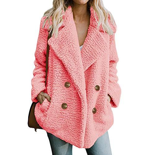 3b71b9f218f ▷ Abrigo Rosa Mujer Compra con los Mejores Precios - Este es el ...