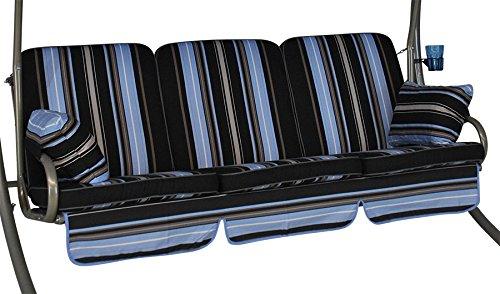 Angerer 785/190 Comfort-Schaukelauflage, 3-Sitzer Design Hamburg
