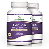 [Sponsored]Leanhealth 100% Natural & Hair Management Herbal Supplement 60 Capsules (Pack Of 2)