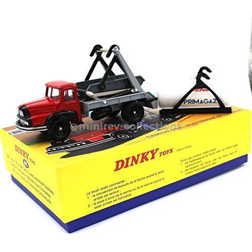 Dinky Toys Atlas 805UNIC LKW multibenne und Regentonne mit Zertifikat