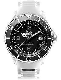 Ice-Watch - ICE sporty White Black - Weiße Herrenuhr mit Silikonarmband - 001328 (Extra Large)