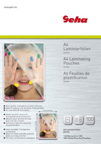 Geha 00093762 pellicola per plastificatrice