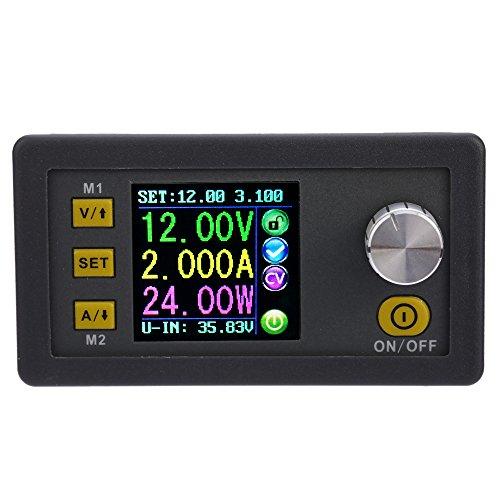 KKmoon Módulo de fuente de alimentación de voltaje integrado del reductor de CC regulable 0-32.00V / 0-5.000A DPS3005