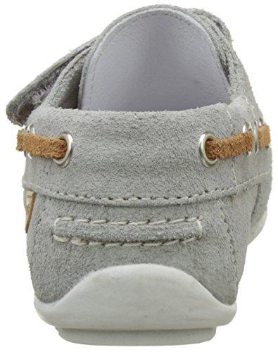 Garvalin Cancale, Chaussures Bateau Garçon Gris (Perla)