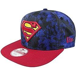 Gorra New Era – 9Forty Hero Slick Superman Original Azul/Rojo S/M