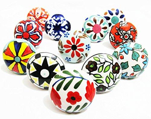 10-x-mix-vintage-look-flower-ceramic-knobs-door-handle-cabinet-drawer-cupboard-pull