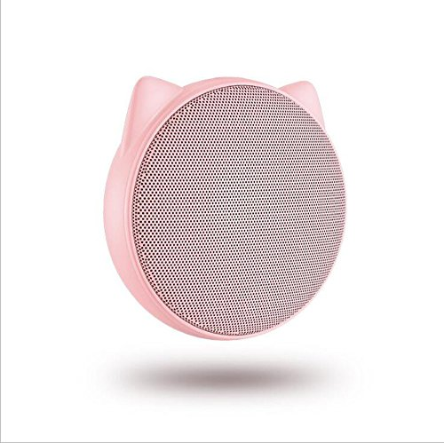 Unbekannt Mini Bluetooth Lautsprecher Drahtlose Outdoor Square Dance Audio Reiten Tragbare Mini Sound Kreatives Geschenk,Pink (Außenbereich Lautsprecher Den Für Drahtlose)