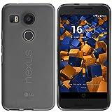 mumbi Schutzhülle LG Nexus 5X Hülle transparent schwarz