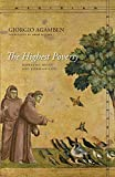 The Highest Poverty: Monastic Rules and Form-of-Life (Meridian: Crossing Aesthetics)