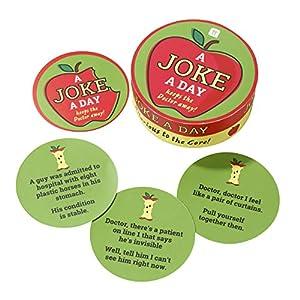 Talking Tables Juego de Mesa de Navidad (64 Unidades), diseño de bromas Jokes-Doc, Color
