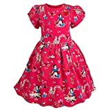 Disney Snow White Woven Party Dress for Girls Size 2 Red