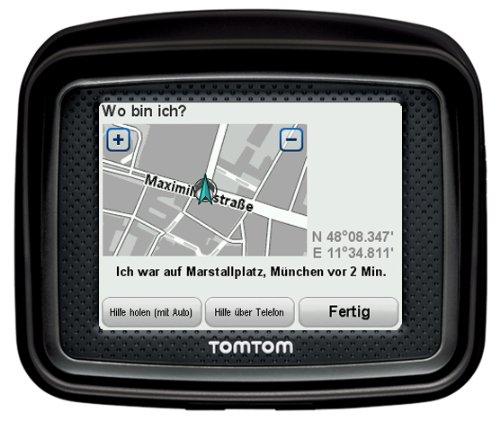 Bild 4: TomTom Urban Rider Central Europe Motorrad-Navigationssystem (8,9 cm (3,5 Zoll) Display, IQ Routes, Fahrspurassistent) mattschwarz