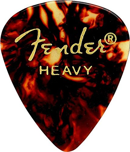 Fender 351 Plektren Heavy (12-er Pack) - Plektren Pack