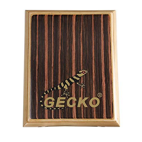 DishyKooker Gecko Cajon Drum Travel Tragbare Box Trommel Handtrommel Schlaginstrument PAD-1