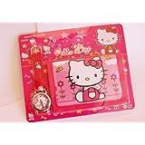 Hello Kitty Watch & Wallet Gift Set in cute Hello Kitty Pink Design
