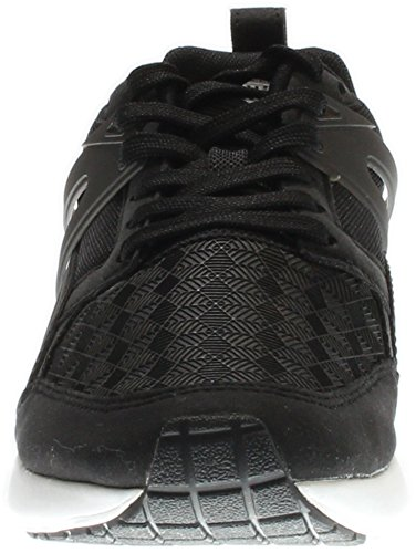 Puma Aril Sneakers 3D Canvas punta rotonda Black-Dark Shadow