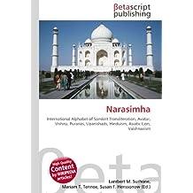 Narasimha: International Alphabet of Sanskrit Transliteration, Avatar, Vishnu, Puranas, Upanishads, Hinduism, Asiatic Lion, Vaishnavism