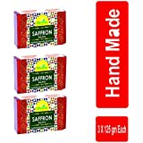 Divine India Saffron Soap, 125 g (Pack of 3)