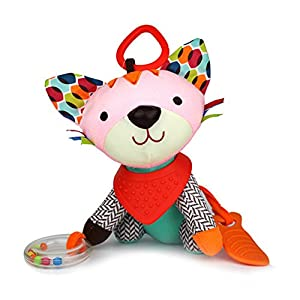 DINGANG® Baby Toys For Boys & Girls - Fun Soft Plush Baby Rattle & Stroller Toddler Toy - Gender Neutral Baby Shower Gift for Newborns by DINGANG