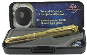 Fisher Space Bullet Pen 0,375 mm Stylo bille Modèle balle avec clip doré