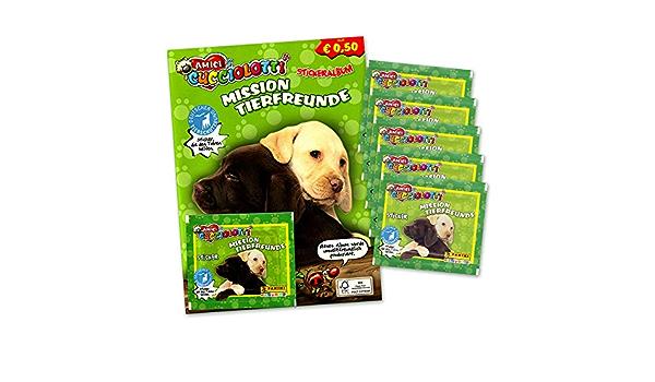 Panini 316 Amici Cucciolotti  Mission Tierfreunde Sticker Nr