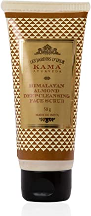Kama Ayurveda Himalyan Almond Deep Cleansing Face Scrub for Men, 50g