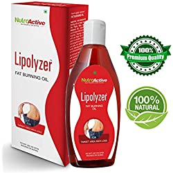 NutroActive Lipolyzer Fat burning oil (275 ml), Slimming oil for Body Shaping ,Weight Loss Product