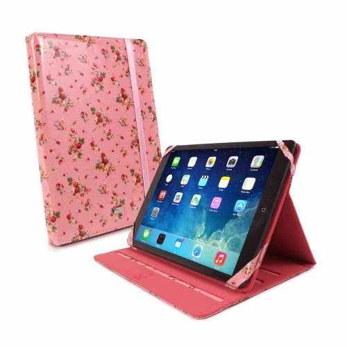 tuff-luv-tlc-slim-stand-fabric-case-cover-with-sleep-function-for-apple-ipad-air-pink