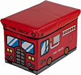 Bieco 4931307 Staubox und Sitzbank Feuerwehr