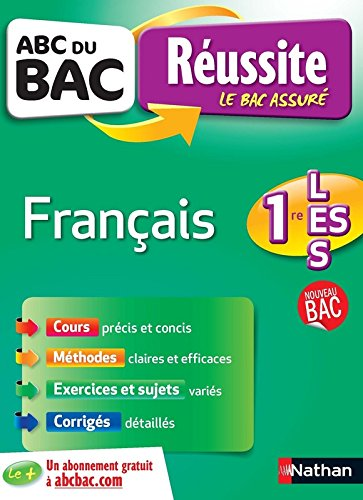 ABC du BAC Réussite Français 1re L.ES.S