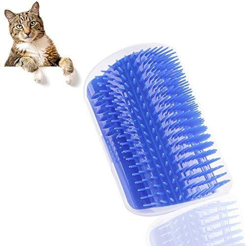 Censha Cat Toys Katze Selbst Groomer Pet Bürste Wand Ecke Massage Kamm mit Katzenminze Praktische Sicherheit Haustier Massagegerät Cat Hair Care Tolles Geschenk Ideen für Jede Katze Lover - Hair Care-pakete