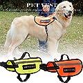High Visibility Haustier-Mantel Kleidung Hundeweste Warnweste Zum Schutz Für Großer Hund Signalweste Reflektierend Reflektorweste