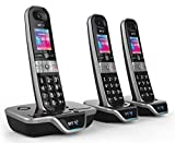 BT8600 Advanced Call Blocker Cordless Home Phone with Answer Machine (Trio Handset Pack)